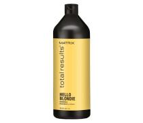 Total Results Hello Blondie Shampoo - 1 Liter