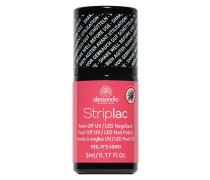 Striplac Powdery Pastels - Yes, it's love Schimmerndes Rot-Rosa, 5 ml