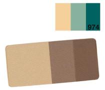 Petal Essence Eye Color Trio - 974 Aqua Pearl, 2,5 g