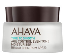 AHAVA Time To Smooth Age Control Even Tone Moisturizer SPF20 - 50 ml
