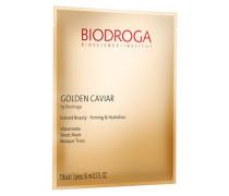 GOLDEN CAVIAR Instant Beauty - Firming & Hydration Vliesmaske - Packung mit 5 x 16 ml