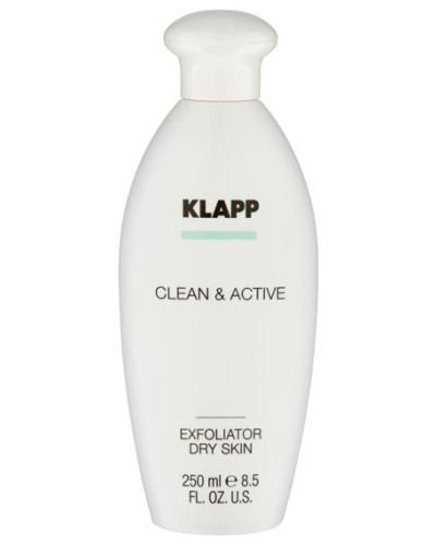 CLEAN & ACTIVE Exfoliator Lotion Dry Skin - 250 ml