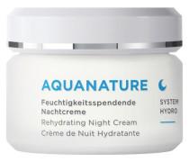 AQUANATURE SYSTEM HYDRO Feuchtigkeitsspendende Nachtcreme - 50 ml