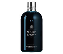 MOLTON BROWN Russian Leather Bath & Shower Gel - 300 ml