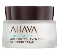 AHAVA Time To Smooth Age Control Even Tone Sleeping Cream - 50 ml