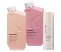 Kevin Murphy Plumping Set (Shampoo 250 ml + Conditioner 250 ml + Trockenshampoo 57 ml)