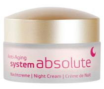 SYSTEM ABSOLUTE SYSTEM ANTI-AGING Nachtcreme - 50 ml