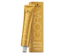 IGORA ROYAL Absolutes - 7-50 Mittelblond Gold Natur, Tube 60 ml