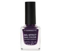 Sweet Almond Gel Effect Nail Colour - 75 Violet Garden, 11 ml
