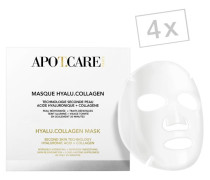 APOT CARE Hyalu Collagen Mask - Pro Packung 4 Stück