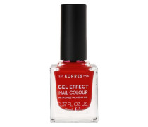 Sweet Almond Gel Effect Nail Colour - 53 Royal Red, 11 ml