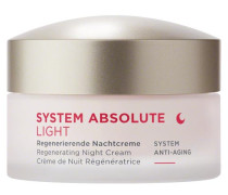 SYSTEM ABSOLUTE SYSTEM ANTI-AGING Regenerierende Nachtcreme Light - 50 ml
