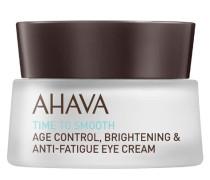 AHAVA Time To Smooth Age Control, Brightening & Anti-Fatigue Eye Cream - 15 ml