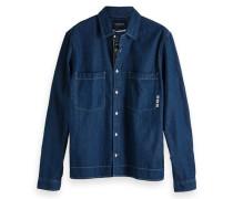 Workwear-Shirt aus Denim
