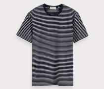Klassisches T-Shirt mit Streifen
