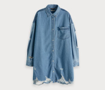 Denim-Shirt im Used Look