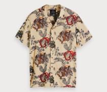 Hawaii-Shirt mit Print
