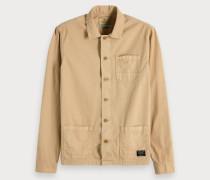 Shirt-Jacke im Worker-Stil