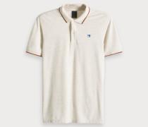 Kontrastierendes Piqué-Poloshirt