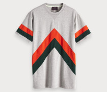 Oversize T-Shirt mit Colorblock-Design