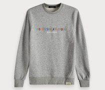 Logo-Sweatshirt mit Stickerei