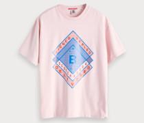 Oversize T-Shirt mit Artwork