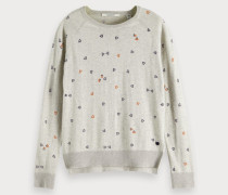 Knitted Artwork Pullover