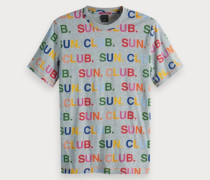 Buntes Artwork T-Shirt