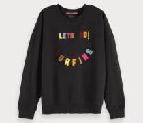 Frottee Artwork Sweatshirt