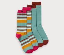 Bunte Socken im 2er-Pack
