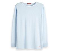 Pullover mit kontrastierendem Ausschnitt