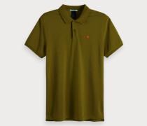 Einfarbiges Poloshirt