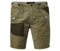 Cargo-Shorts mit Aufnäher