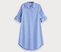 Hemdkleid mit Rüschenärmeln