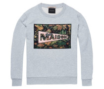 Sweatshirt mit Artwork Logo
