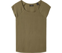 Seidiges T-Shirt