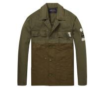 Shirt-Jacke im Military-Stil