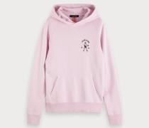 Hoodie mit rosa Artwork