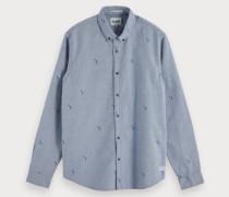 Shirt mit Allover Print