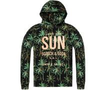Hoodie mit Tropic-Print