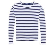 T-Shirt im Boyfriend Fit mit Bretonstreifen