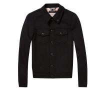 Trucker-Jacke aus Wolle