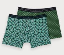 Boxershorts mit Print im 2er-Pack