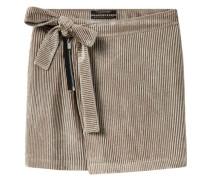 Minirock aus Kordsamt