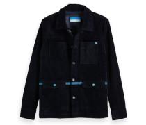 Worker-Jacke aus Kord