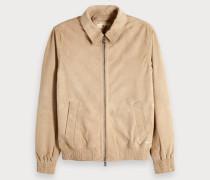 Shirt-Jacke aus Wildleder