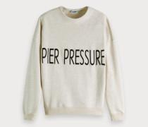 Sweatshirt mit Pier-Artwork