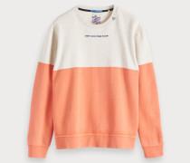 Colorblock-Sweatshirt