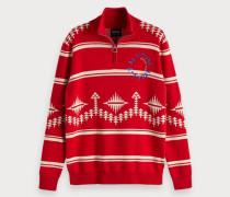 Pullover mit alpinem Muster