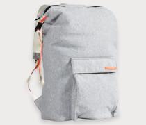 Rucksack aus Sweat-Stoff